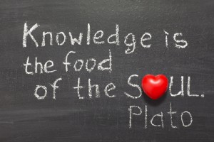 Knowledge food soul plato